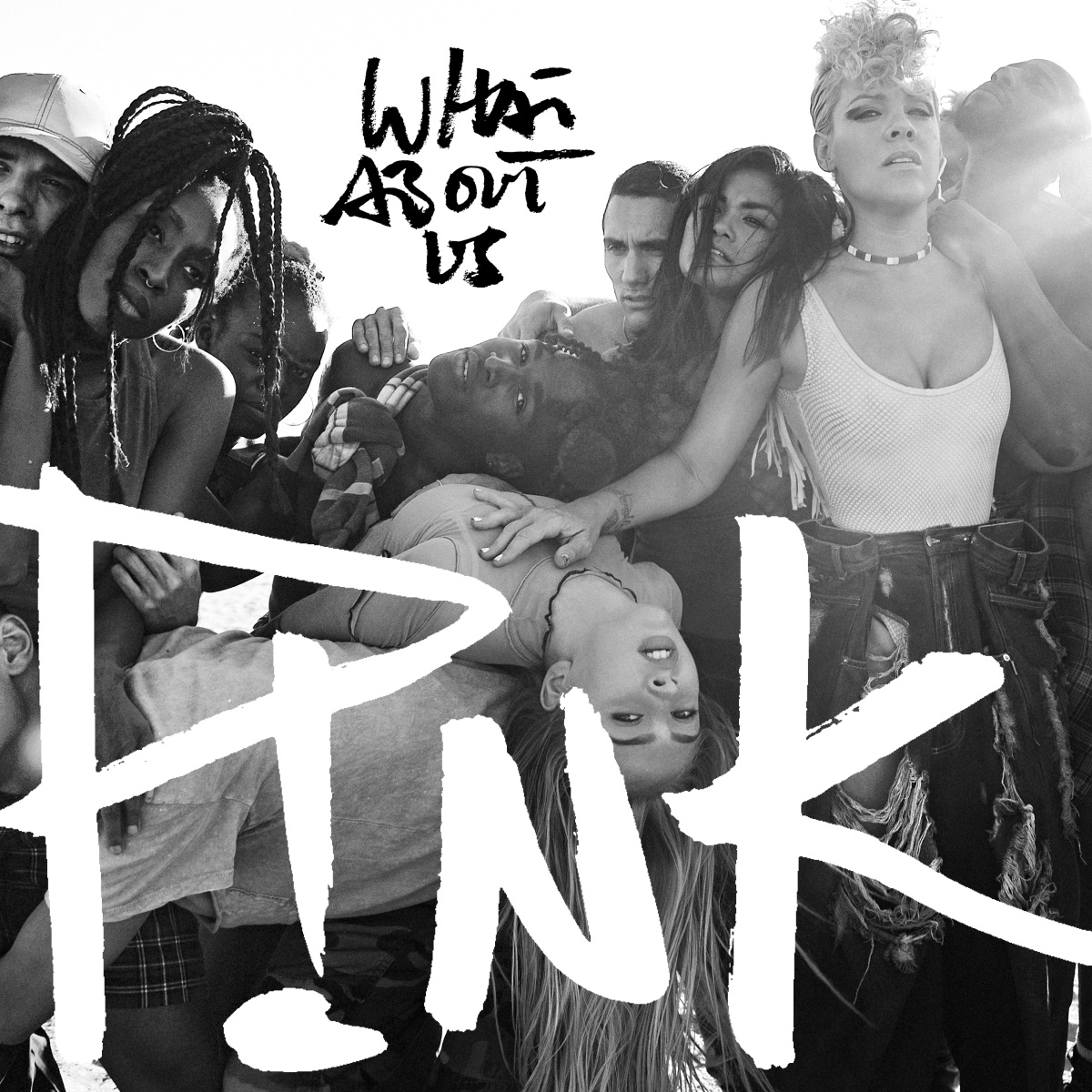 Cover: P!NK, WHAT ABOUT US