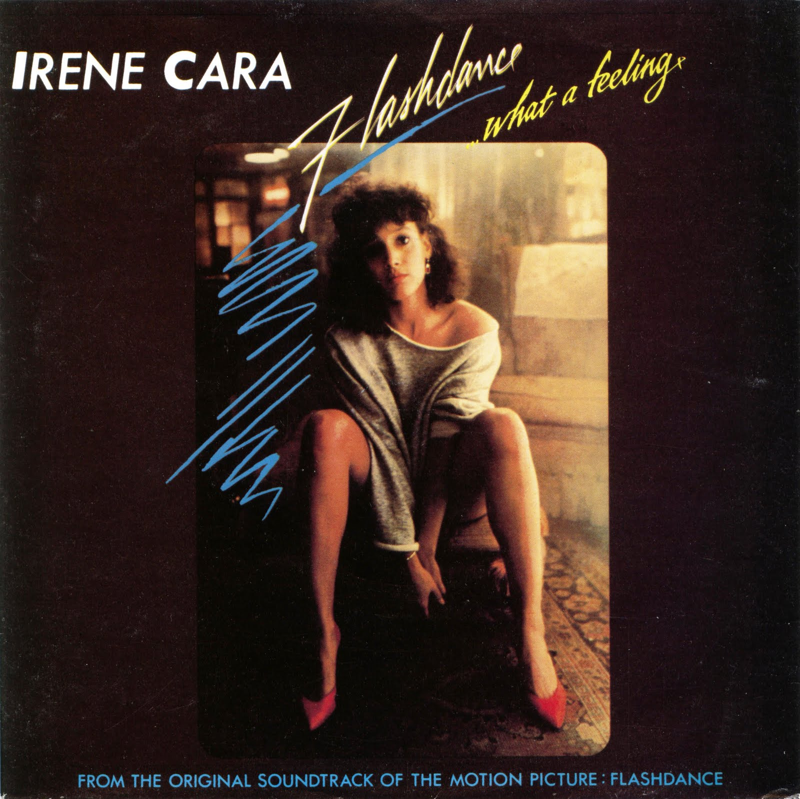 Cover: IRENE CARA, WHAT A FEELING