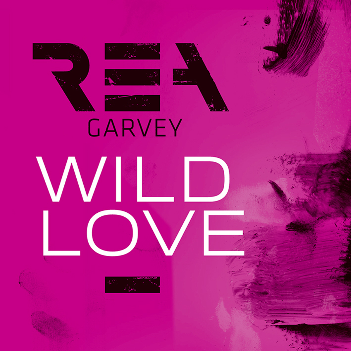 Cover: REA GARVEY, WILD LOVE