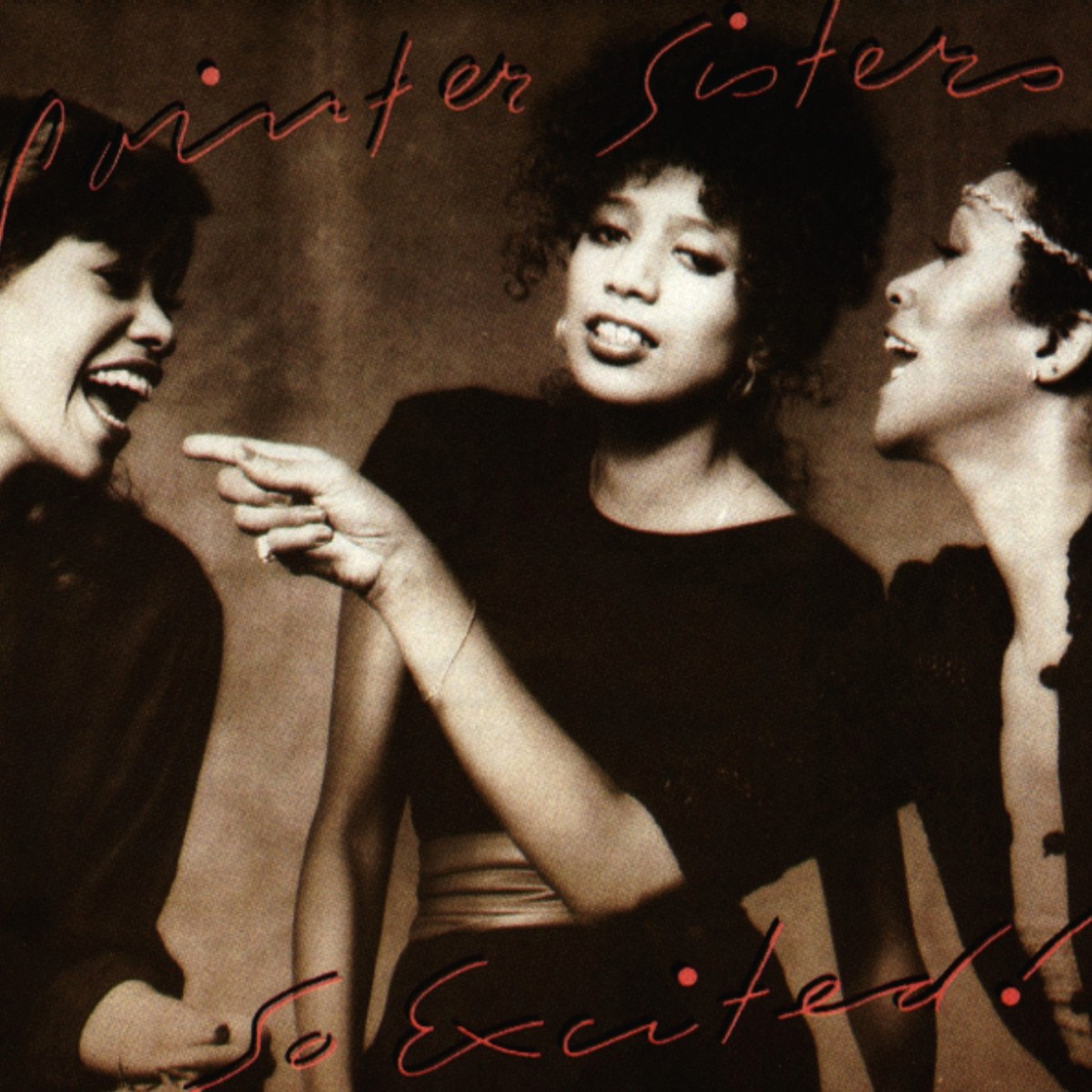 Cover: THE POINTER SISTERS, I