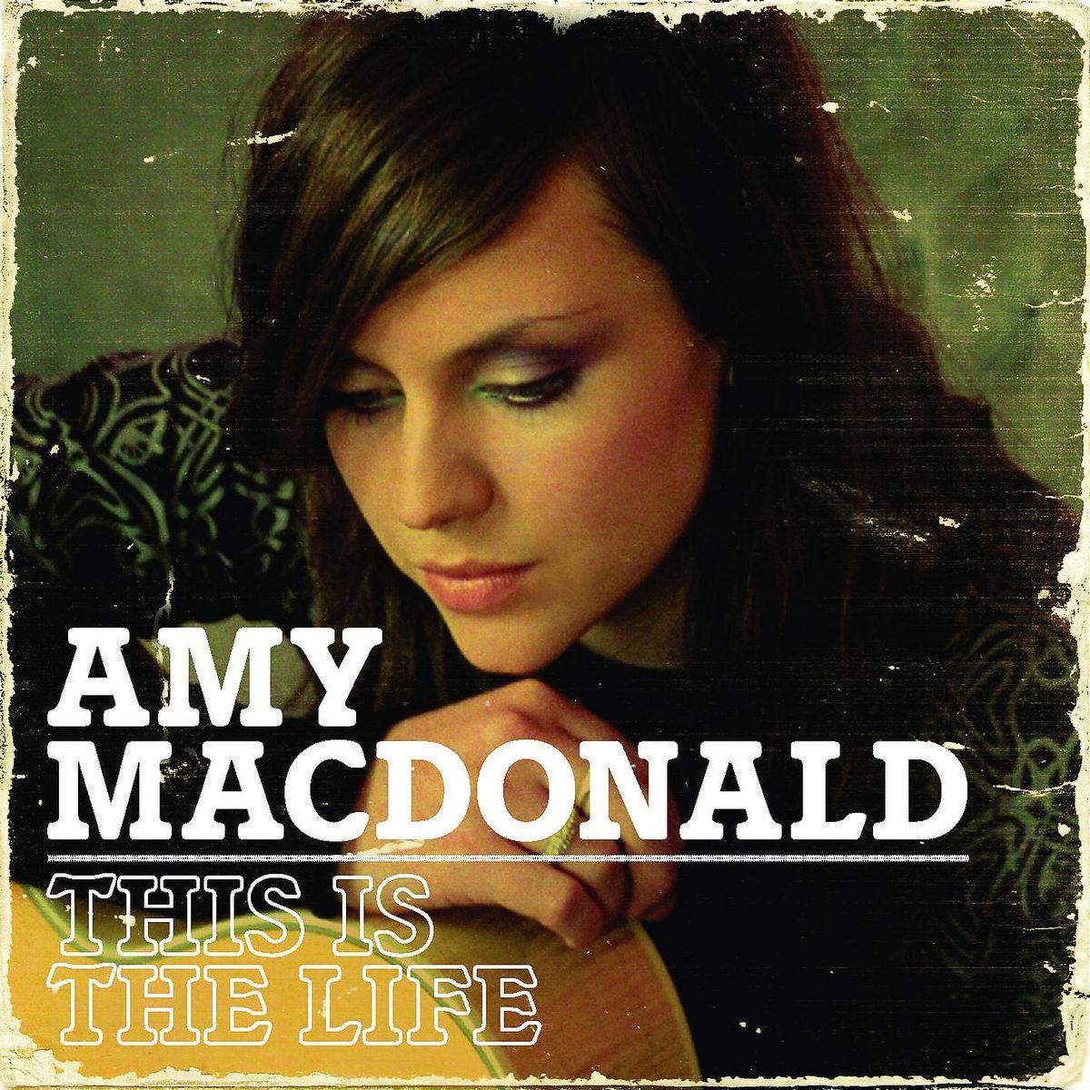 Cover: AMY MACDONALD, THIS IS THE LIFE
