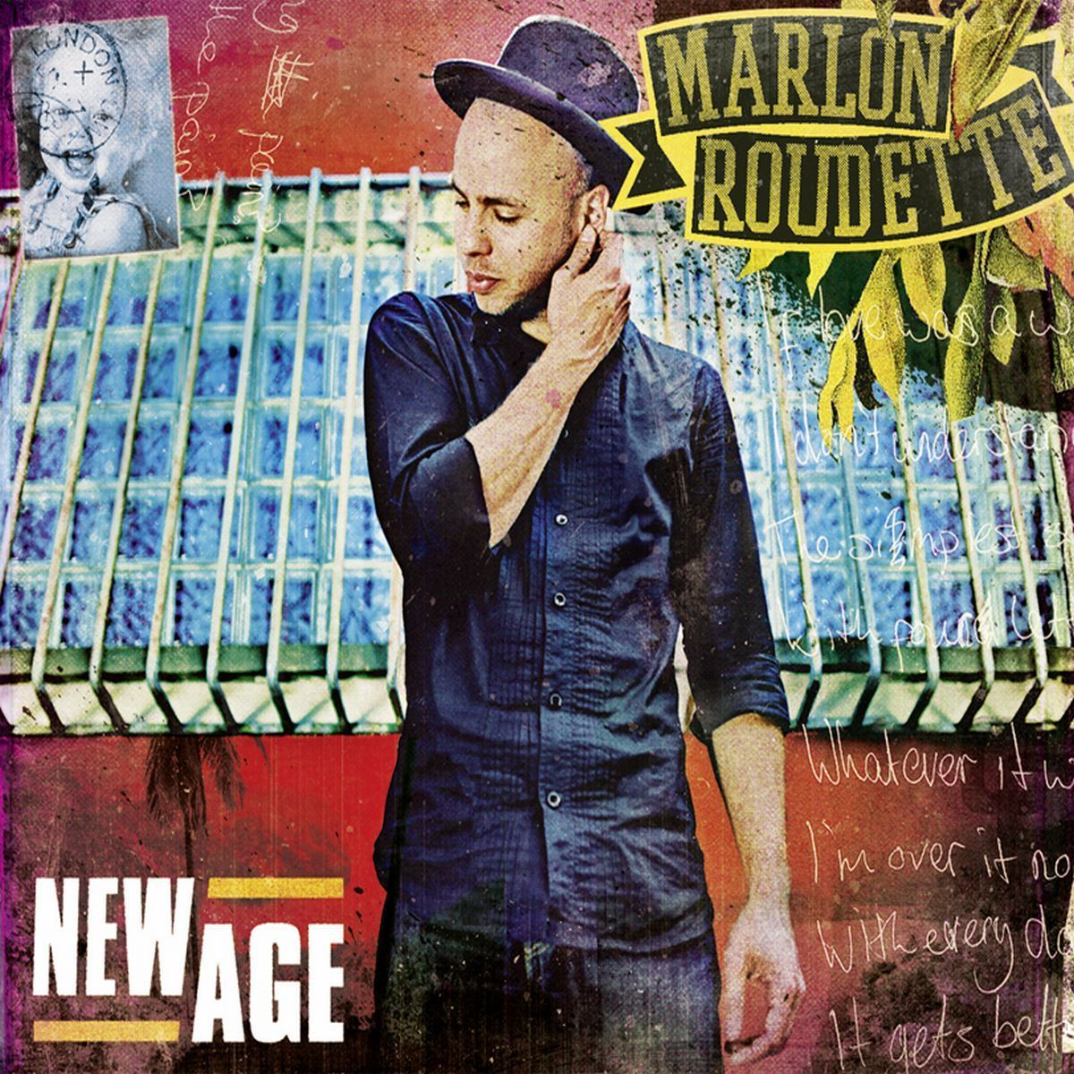 Cover: MARLON ROUDETTE, NEW AGE