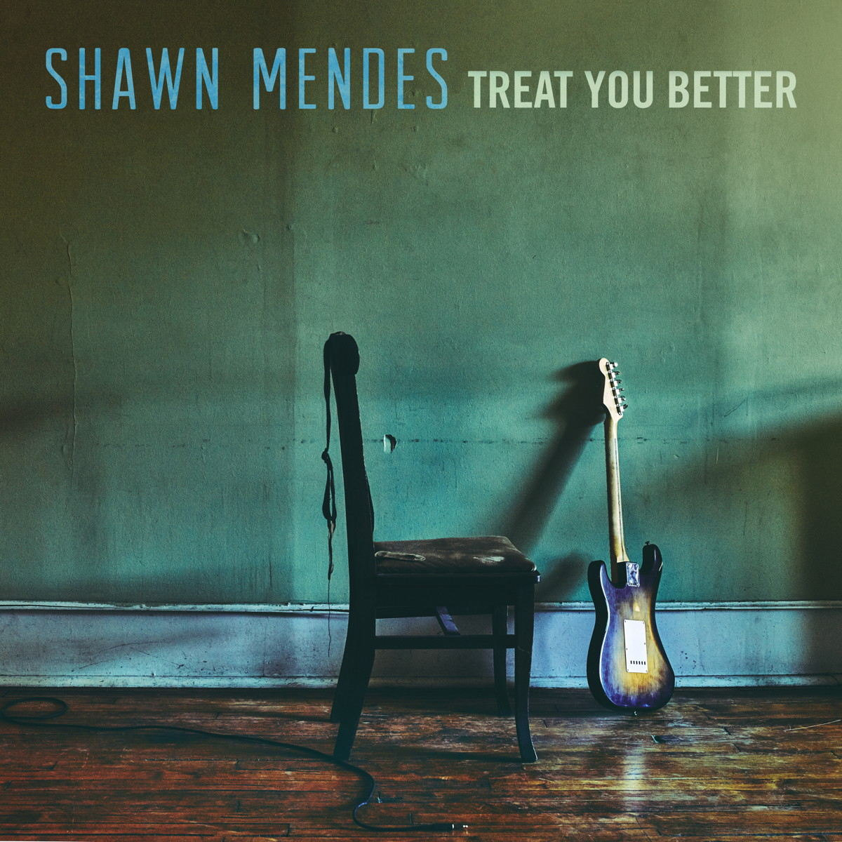Cover: SHAWN MENDES, TREAT YOU BETTER