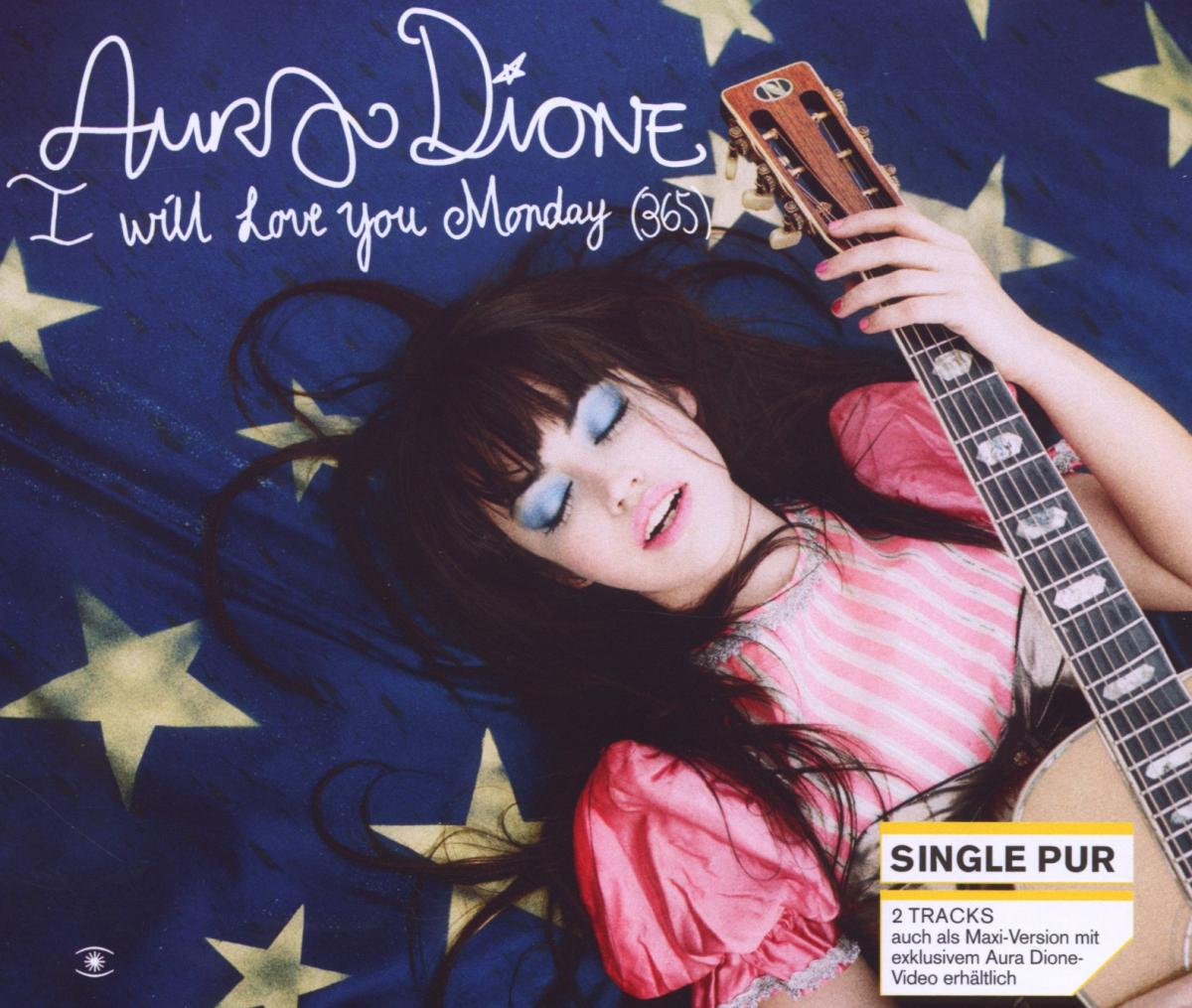Cover: AURA DIONE, I WILL LOVE YOU MONDAY