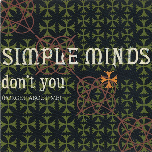Cover: SIMPLE MINDS, DON
