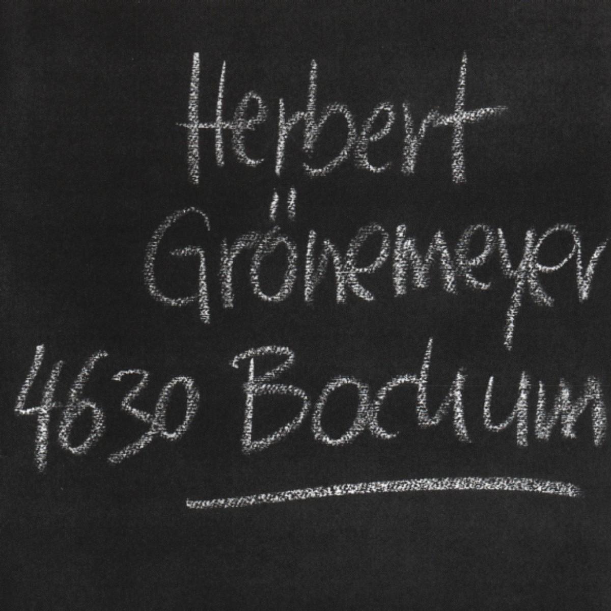 Cover: HERBERT GRÖNEMEYER, MÄNNER