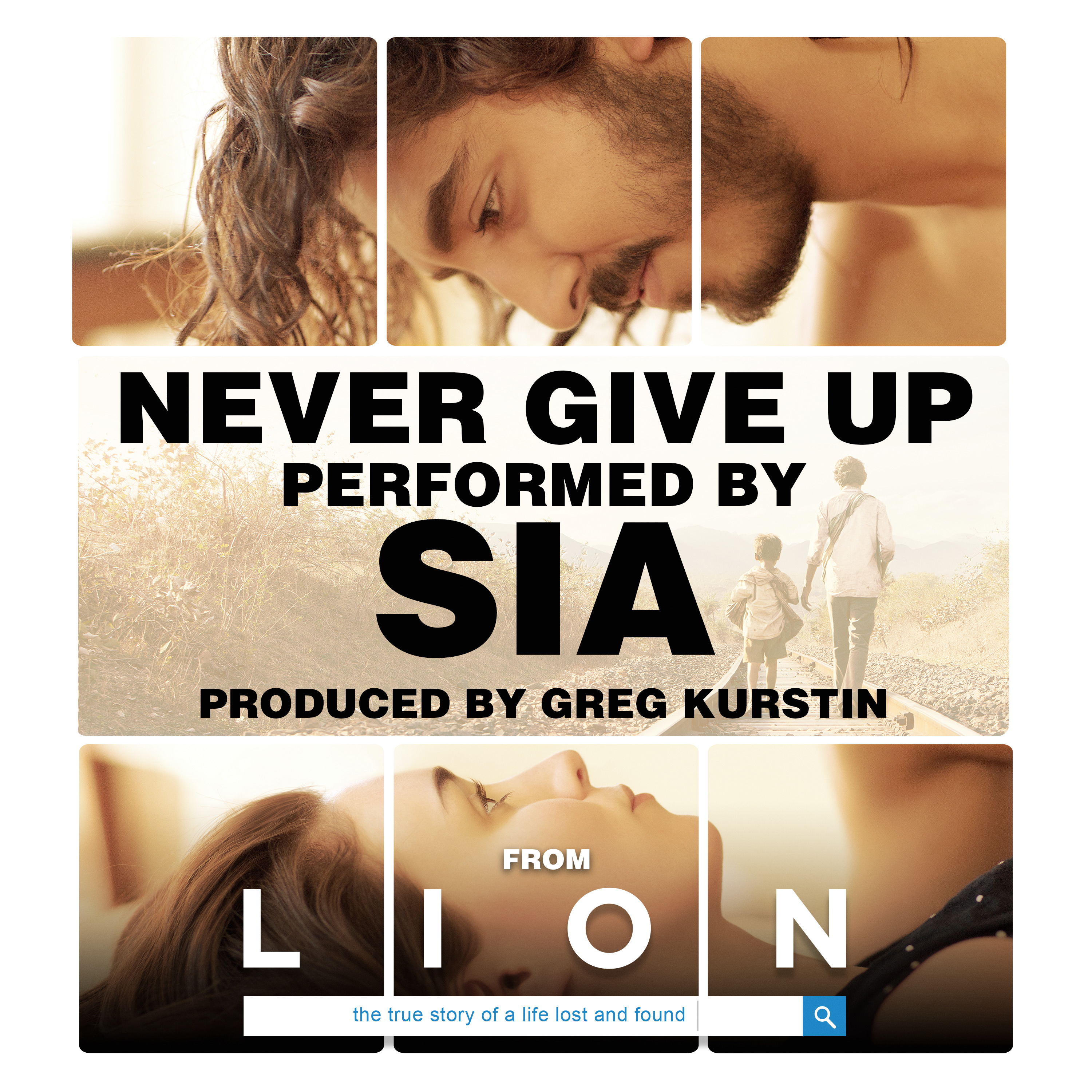 Cover: SIA, NEVER GIVE UP