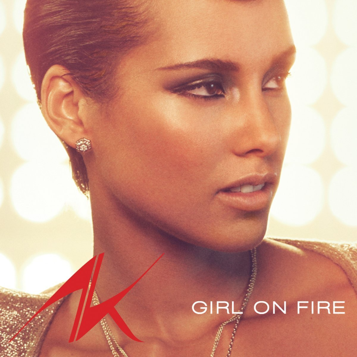 Cover: ALICIA KEYS, GIRL ON FIRE
