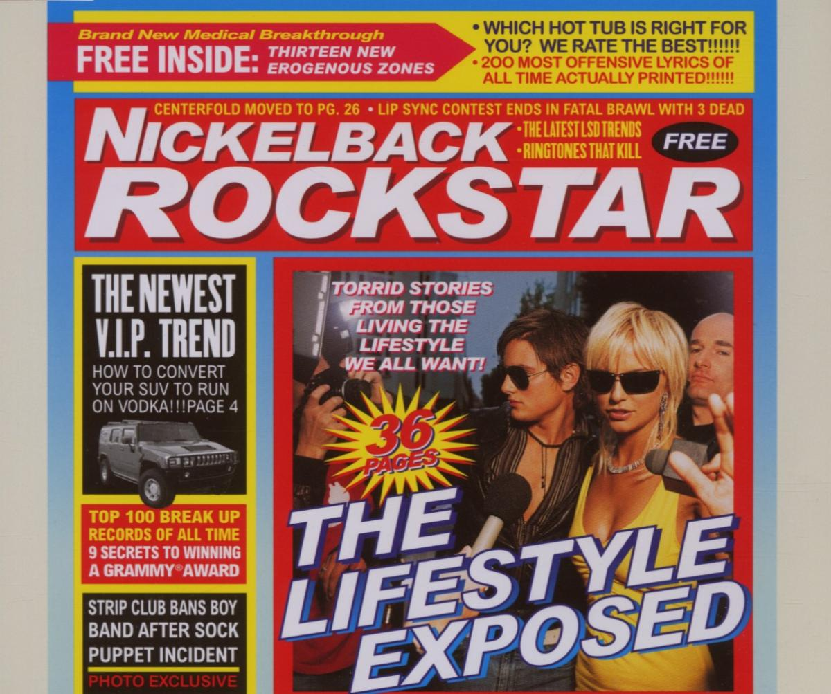 Cover: NICKELBACK, ROCKSTAR