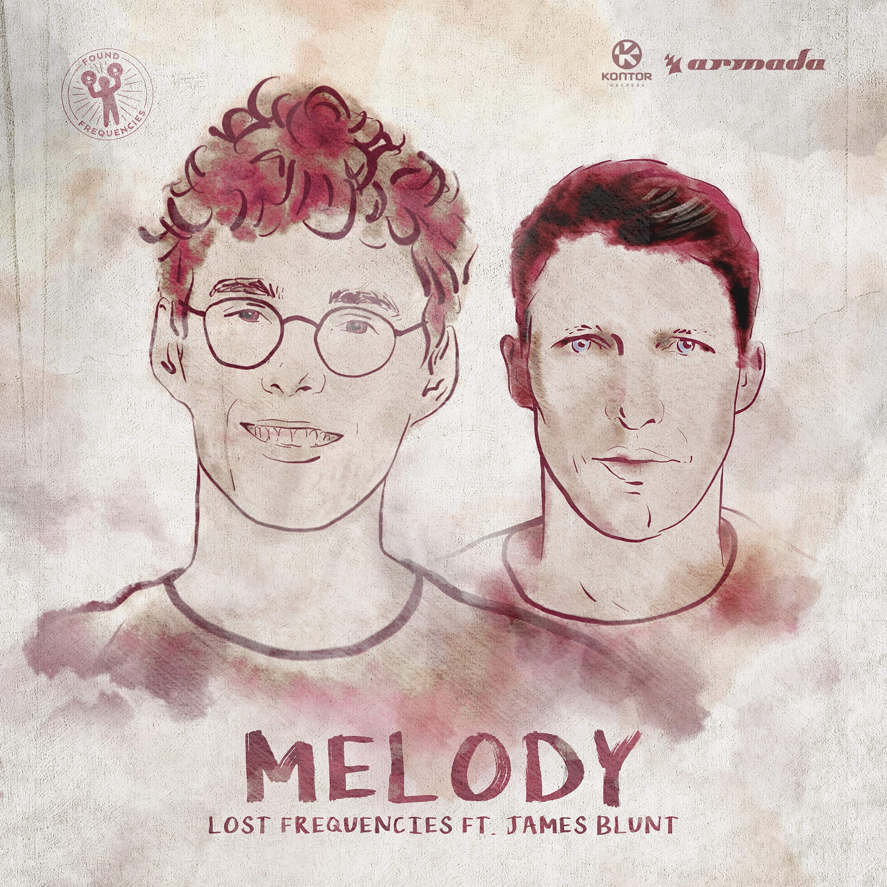 Cover: LOST FREQUENCIES FEAT. JAMES B, MELODY