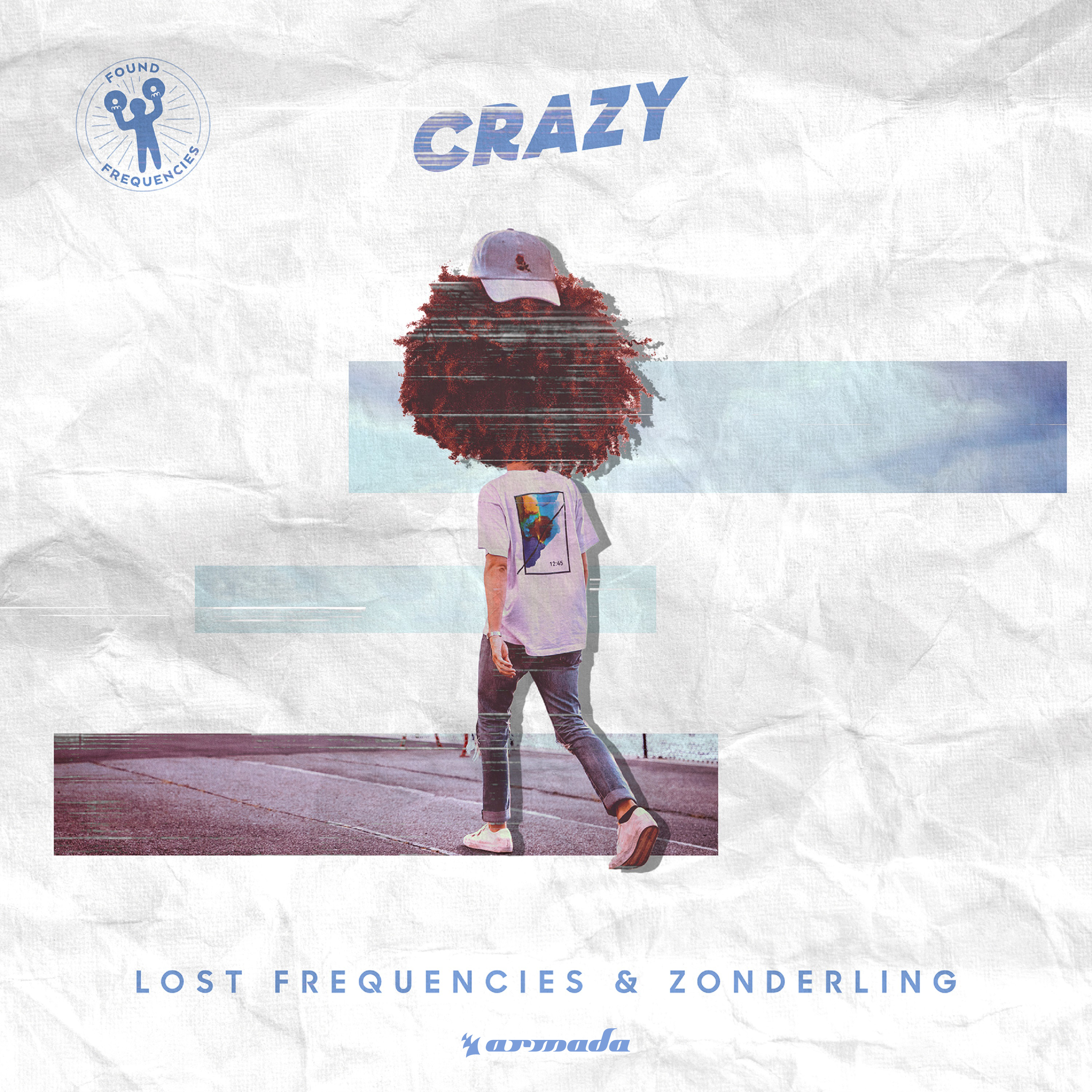 Cover: LOST FREQUENCIES FEAT. ZONDERL, CRAZY