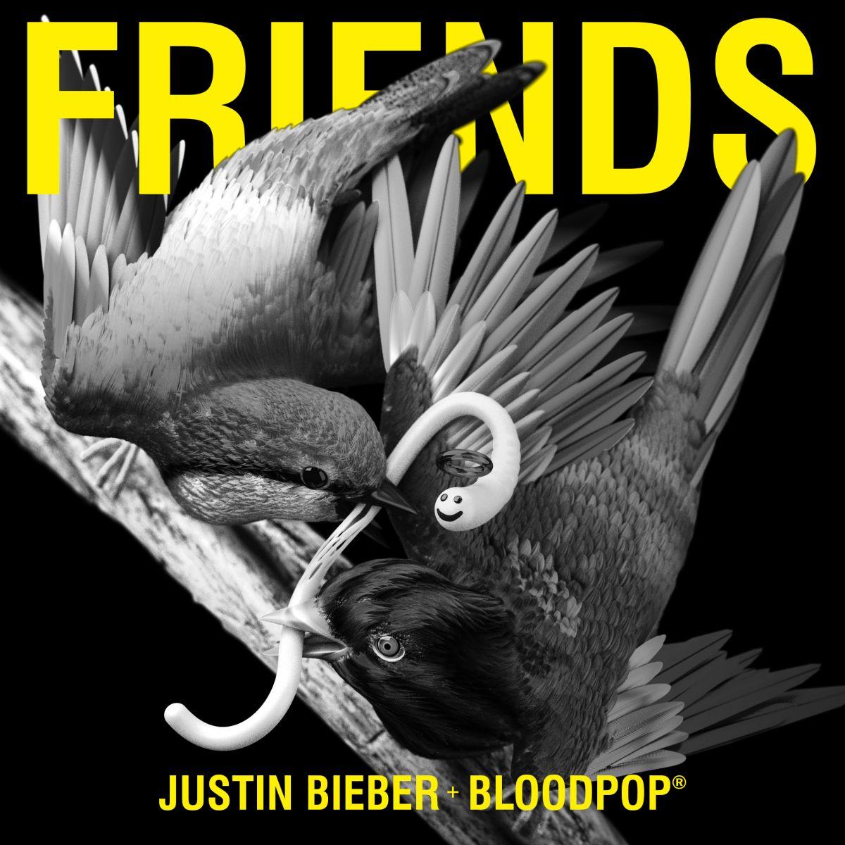 Cover: JUSTIN BIEBER FEAT. BLOODPOP, FRIENDS