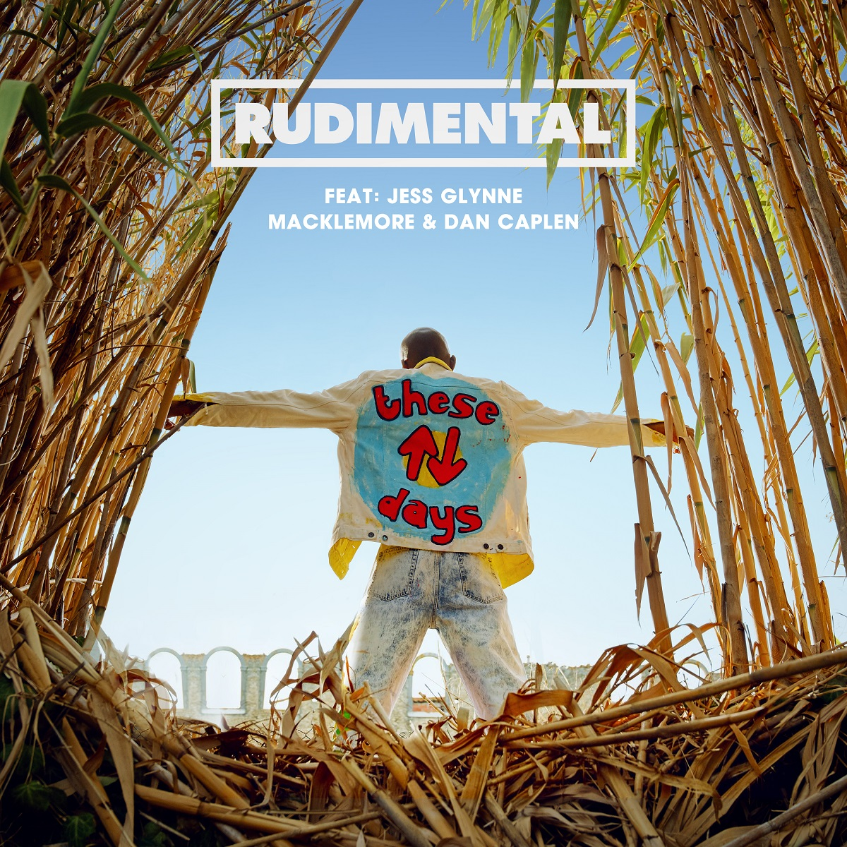 Cover: RUDIMENTAL FEAT. JESS GLYNNE F, THESE DAYS