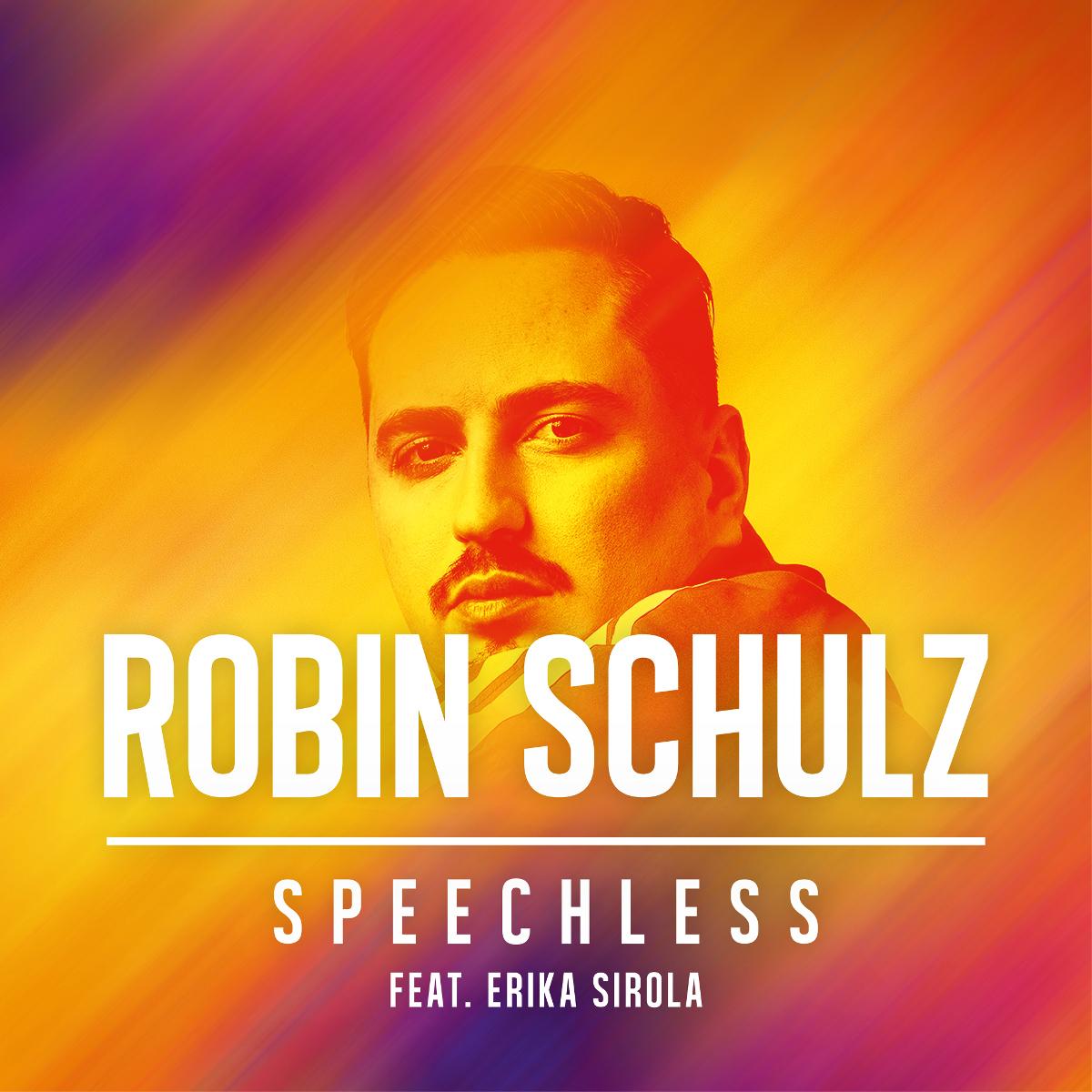 Cover: ROBIN SCHULZ FEAT. ERIKA SIROLA, SPEECHLESS