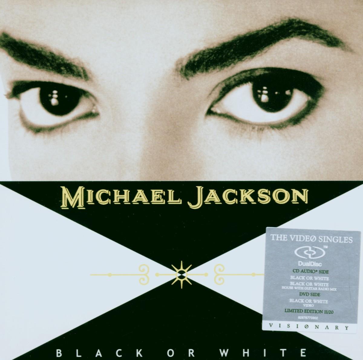Cover: MICHAEL JACKSON, BLACK OR WHITE
