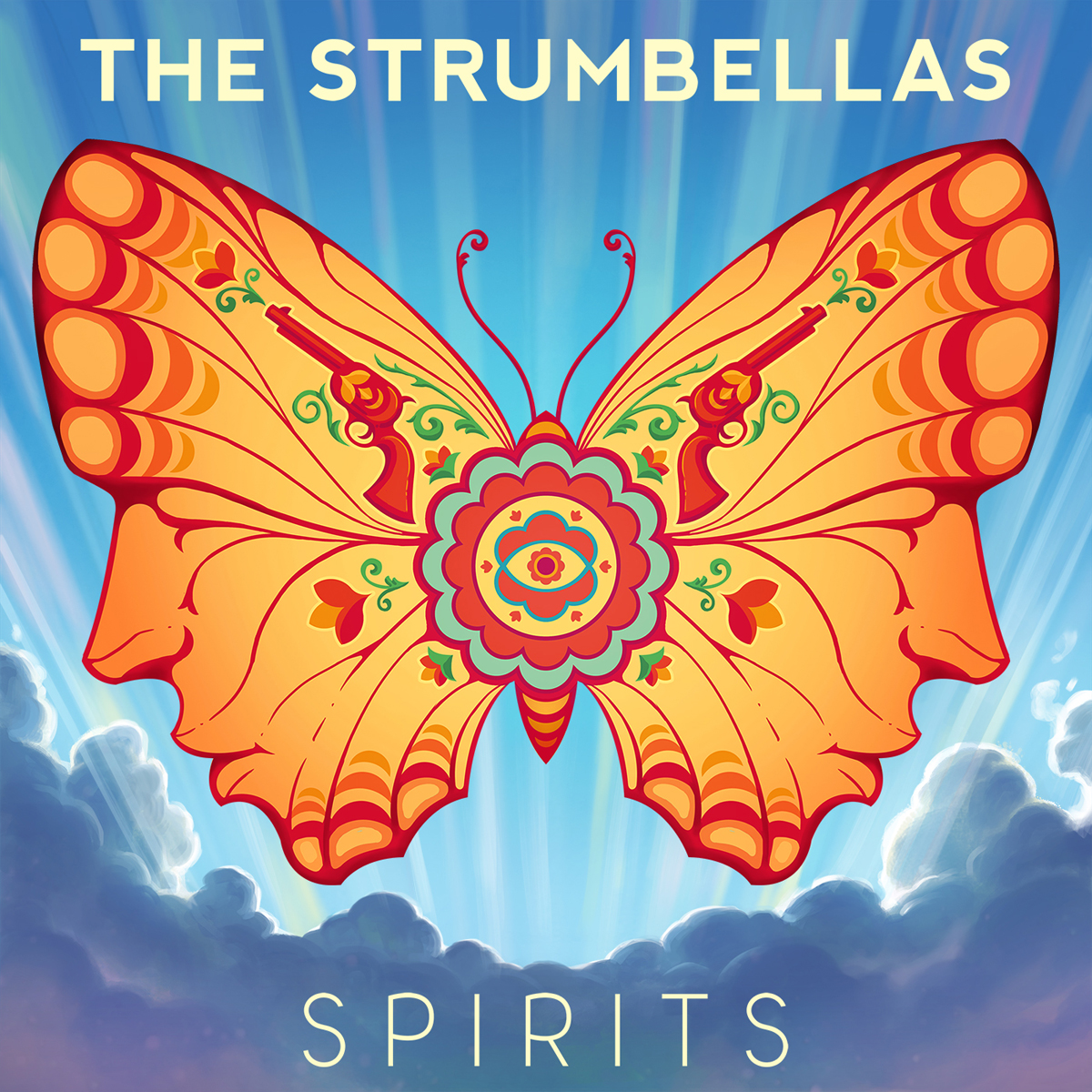 Cover: THE STRUMBELLAS, SPIRITS
