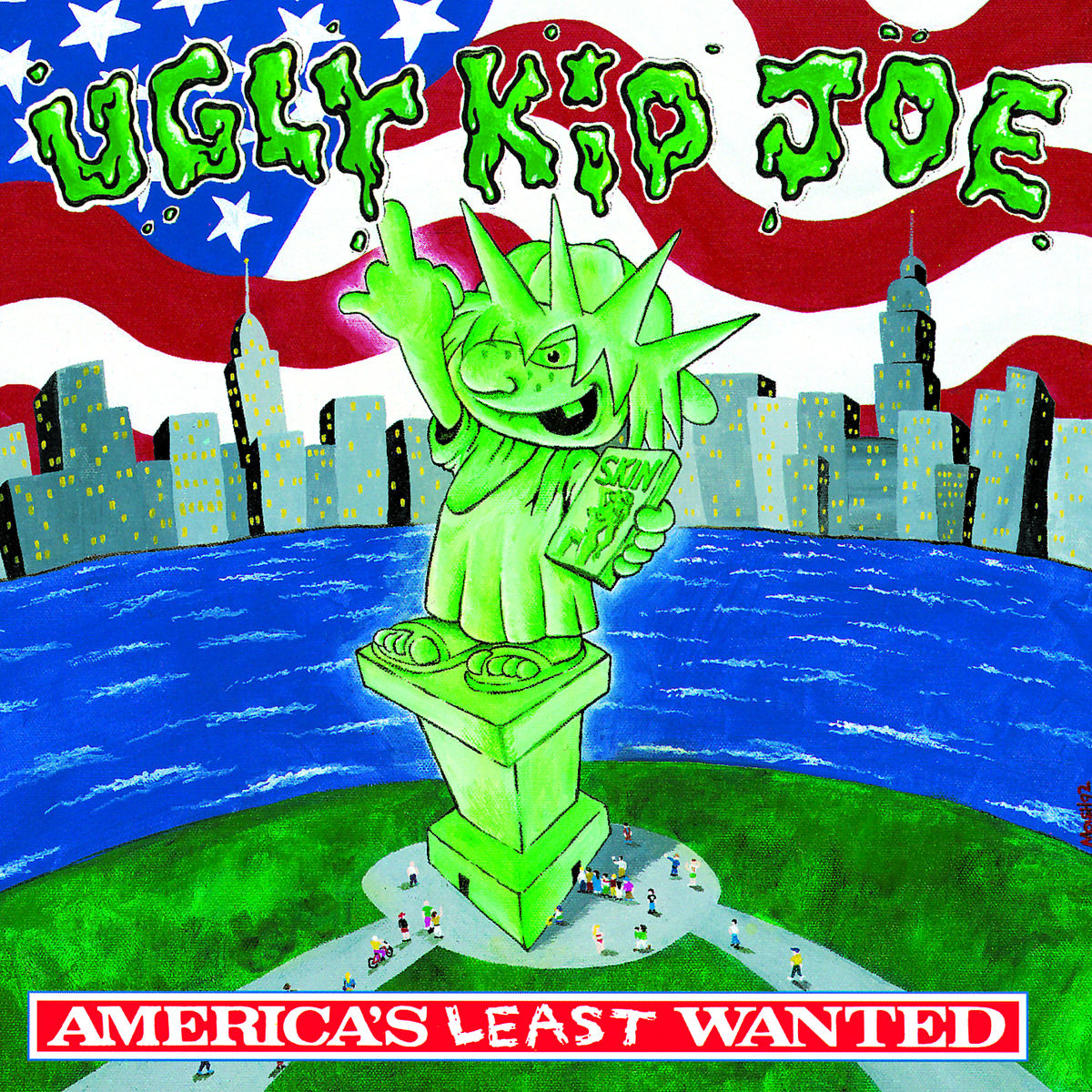 Cover: UGLY KID JOE, CATS IN THE CRADLE